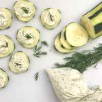 Easy Cucumber Dill Bites
