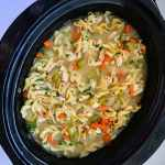 Made right in your crockpot - this Slow Cooker Chicken Noodle Soup is perfect as the weather chills down or when your household is fighting a cold. Simple and easy way to make comforting, healthy, homemade Chicken Noodle Soup. Recipe at KathleensCravings.com