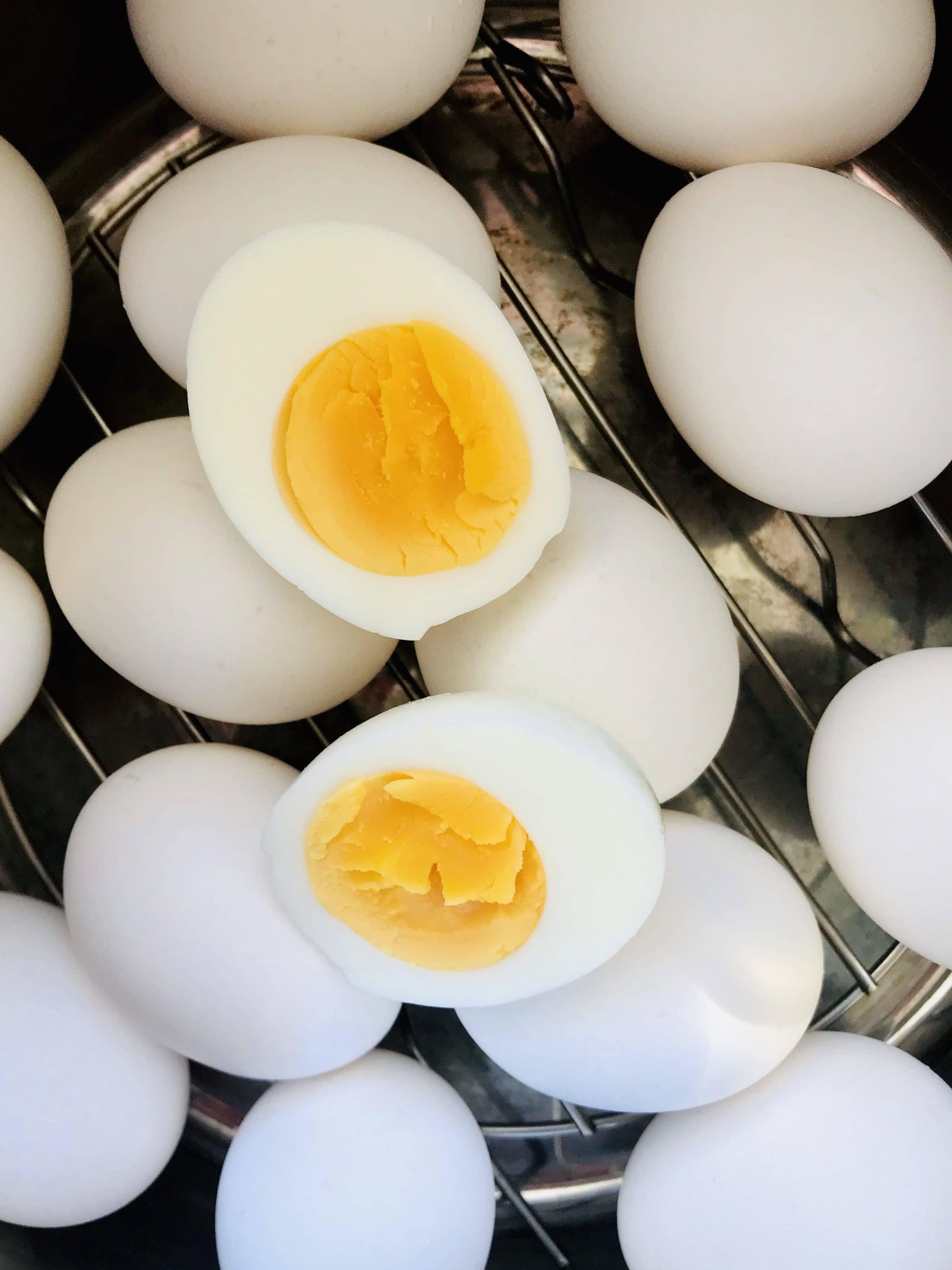 Instant Pot Hard Boiled Eggs – Easy Peel!