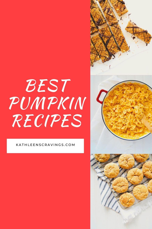 Best Pumpkin Recipes!