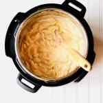 Instant Pot Mac and Cheese is the perfect comfort food. Uses just 4 ingredients (plus a few basic spices) and comes together in less than 30 minutes. Using evaporated milk makes this pasta extra rich and creamy. Recipe at KathleensCravings.com