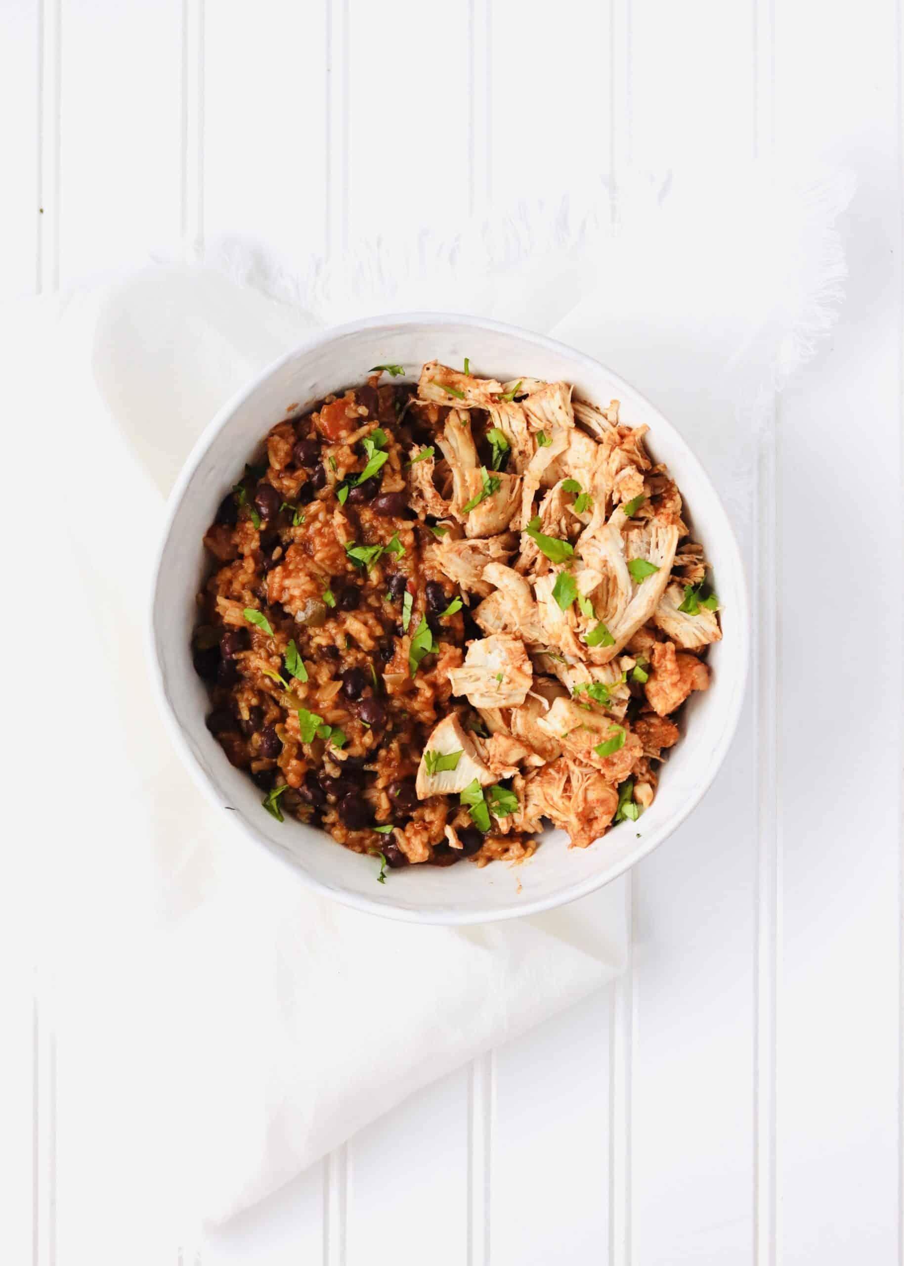Instant Pot Salsa Chicken & Rice