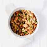 Instant Pot Salsa Chicken and Rice is perfect for an easy weeknight dinner or meal prep for the week. Made with pantry ingredients in just 30 minutes, I love this easy and healthy one pot meal. Recipe at KathleensCravings.com #instantpot #onepotmeal #instantpotchicken #instantpotrice #salsachicken
