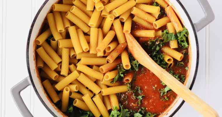One Pot Spicy Sausage Pasta