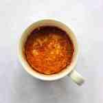 Coffee Cake in a mug