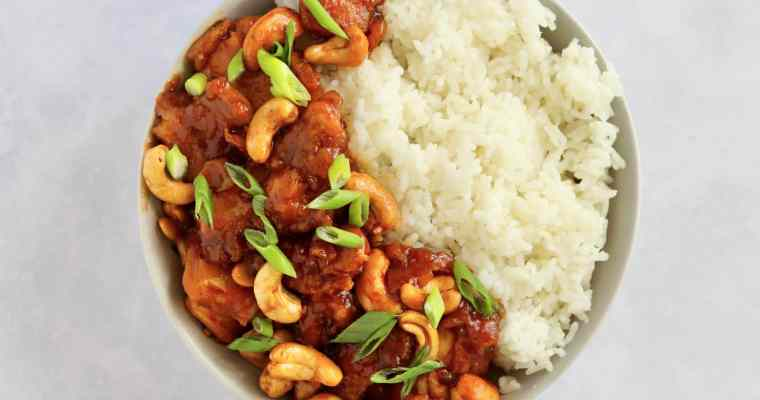 30-Minute Cashew Chicken