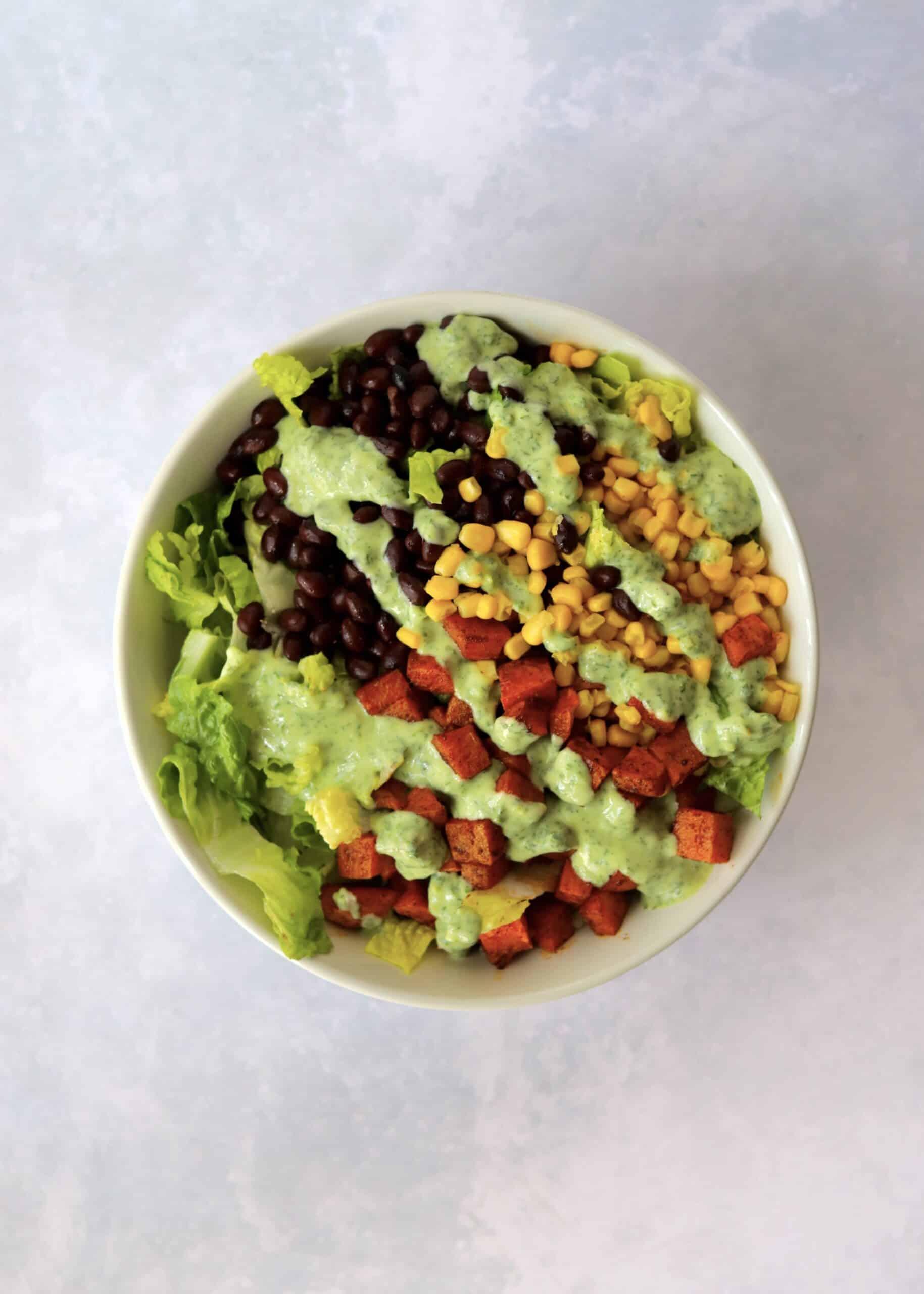 Sweet Potato Southwest Salad