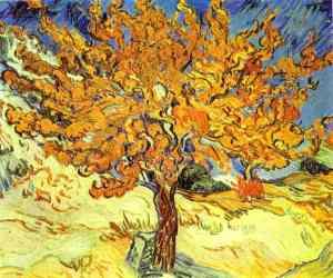 De moerbei, Vincent Van Gogh (1889)