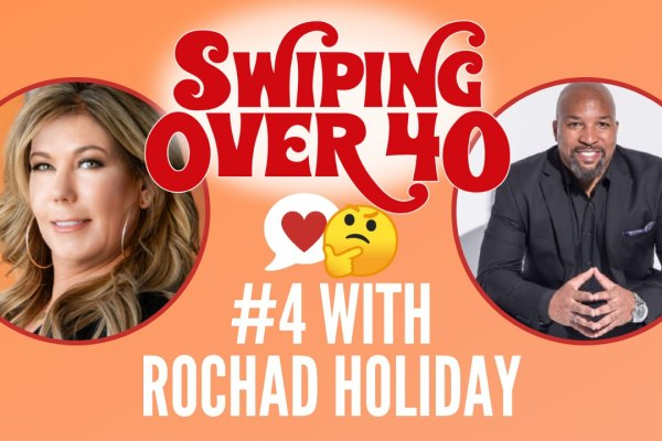 podcast about online dating over 40 swiping over 40 episode 4 with rochad holiday