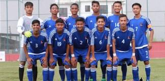 2017 SAFF U15 Championship: Nepal out perform Maldives