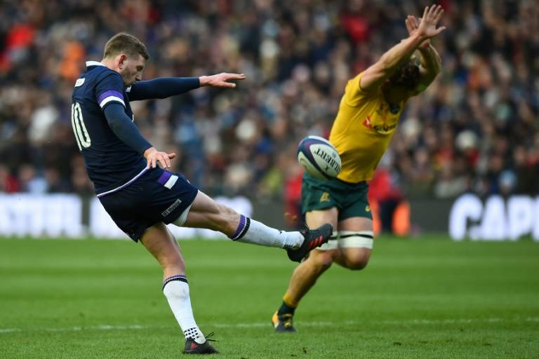 Russell stays in unchanged Scotland XV against England