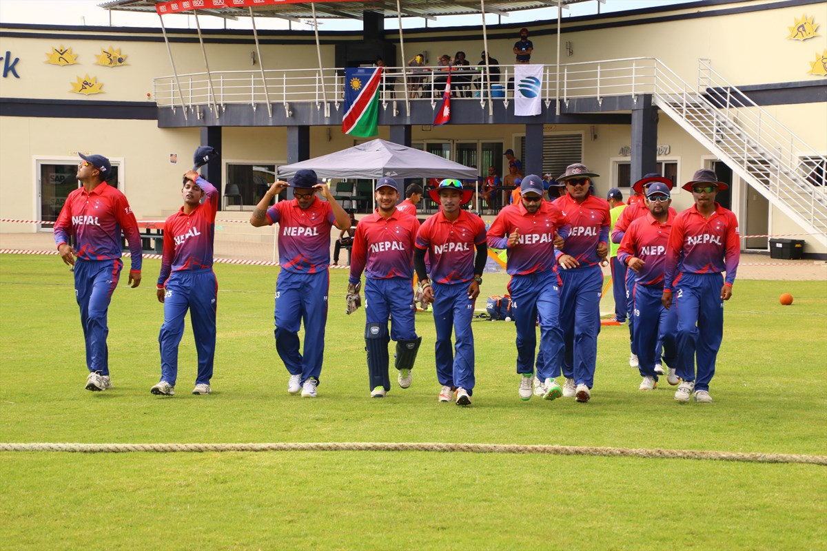 Nepal beats UAE, registers second win of the tournament
