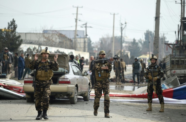 57 killed in bombing at Kabul voter centre