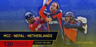 Nepal's first T20I since 2015