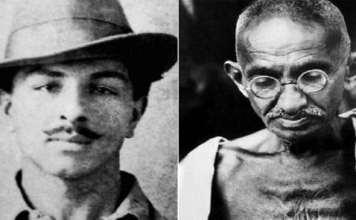 Gandhi or Bhagat Singh