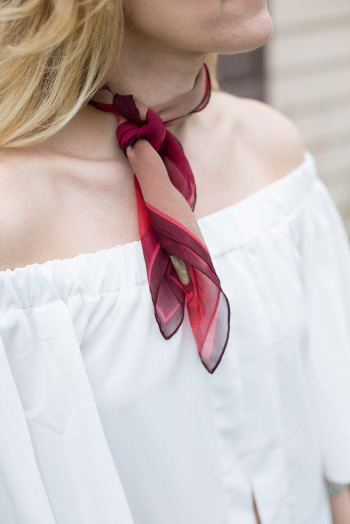 Elegant Off the Shoulder - Kathrine Eldridge, Wardrobe Stylist