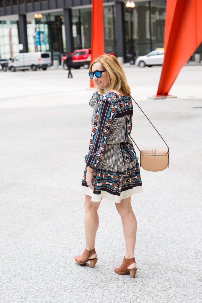 Make Me Chic Wishlist - Vintage Print Dress