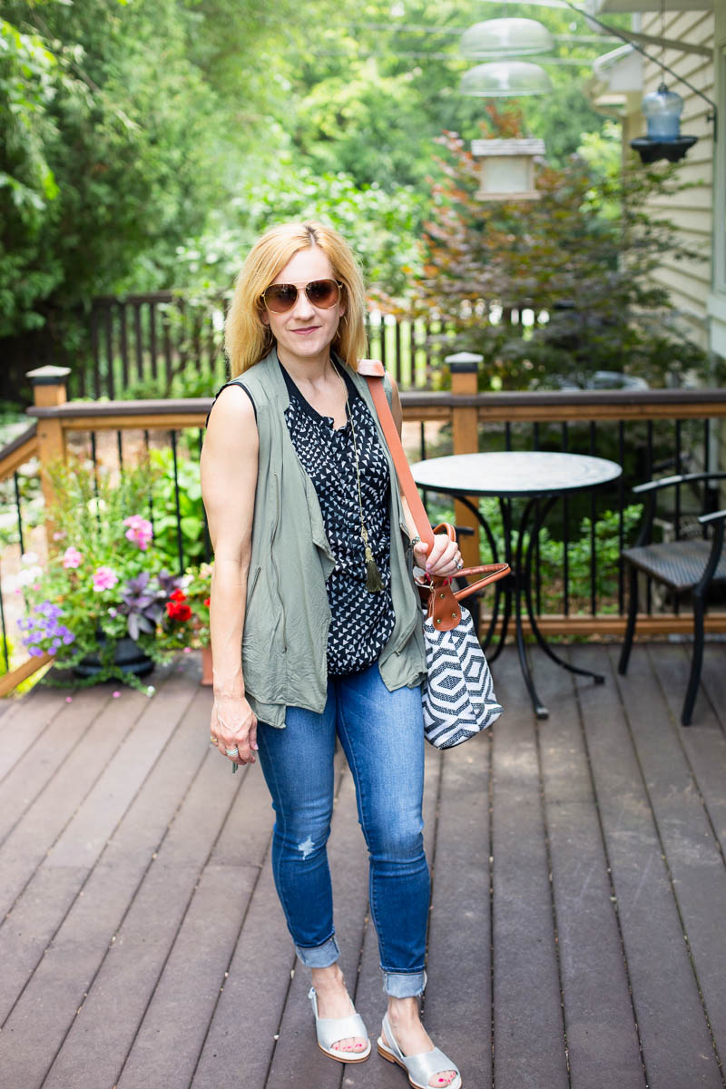 Summer Casual Chic with Calla Shoes