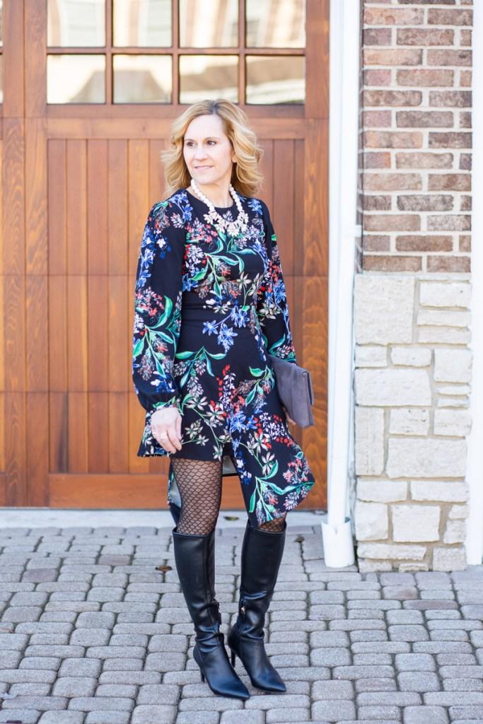 Edgy Florals in the New Year by Kathrine Eldridge, Wardrobe Stylist