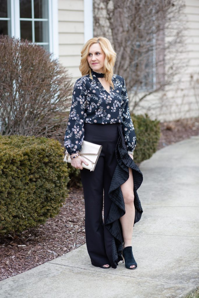 Ruffle Pants - My Angelina Jolie Moment by Kathrine Eldridge, Wardrobe Stylist