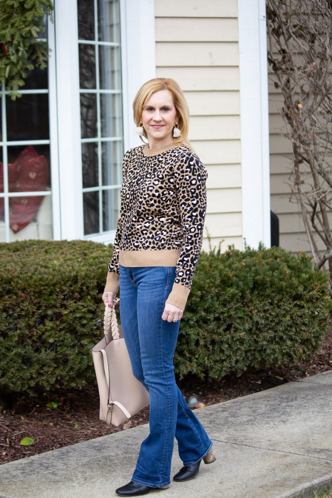 Sharing my love of leopard with this casual chic look.