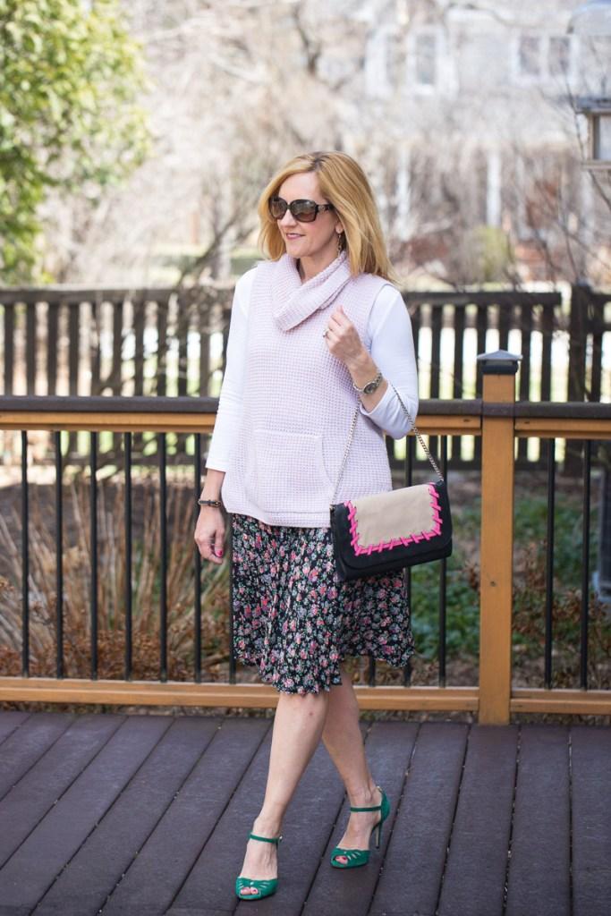 Pink Spring Florals by Kathrine Eldridge, Wardrobe Stylist