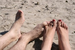 Capitola-our feet
