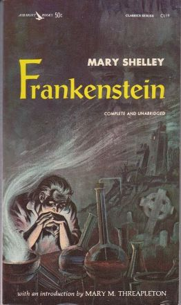 "Cover of ""Frankenstein"" by Mary Shelley"
