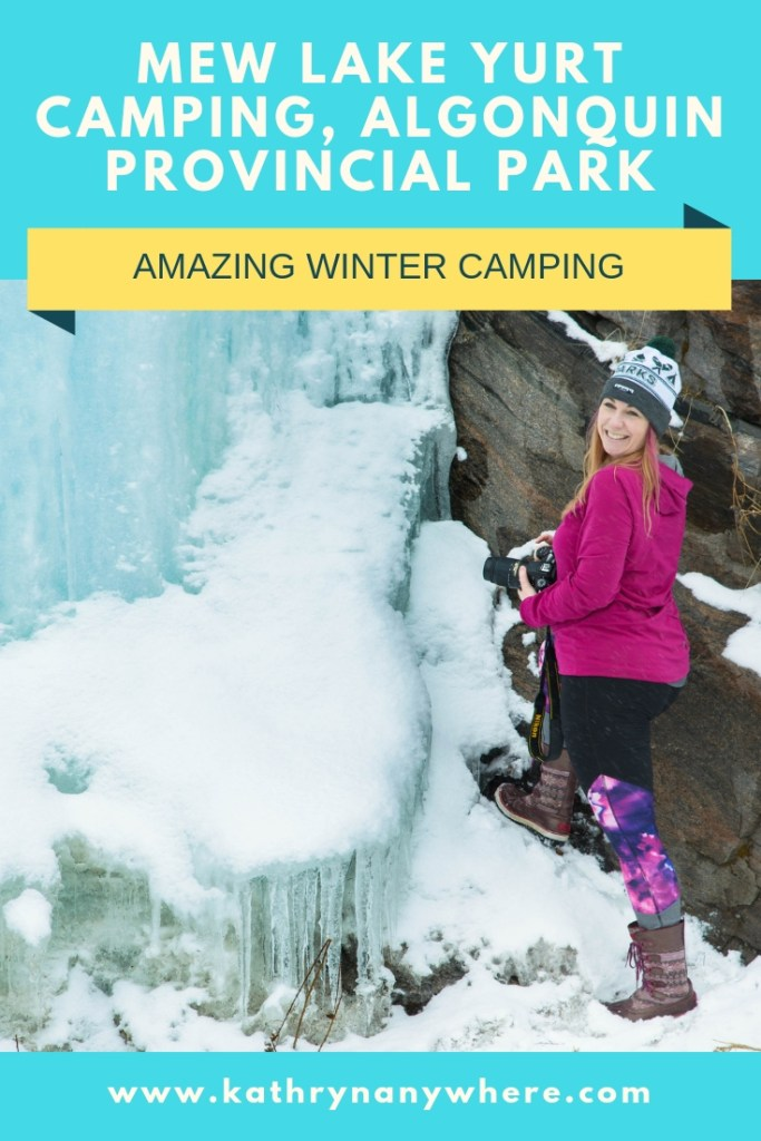Yurt Winter Camping In Algonquin Yes Please Kathryn