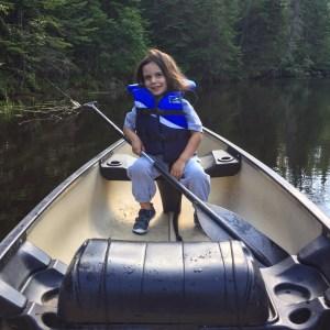 canoeing on bonnechere river