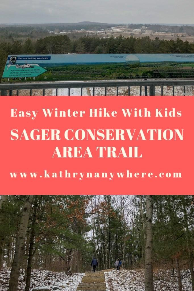 Easy Winter Hike With Kids: Sager Conservation Area Trail hike #sagerconservationarea #womenwhohike #getoutstayout #letsgosomewhere #exploretocreate #kidswhohike #theoutbound #thosewhostray #traveldeeper #neverstopexploring #exploreclub #conservationarea #sagerconservation #yourstodiscover #discoverON #kidswhoexplore #explorecanada #exploreontario @Kathrynanywhere