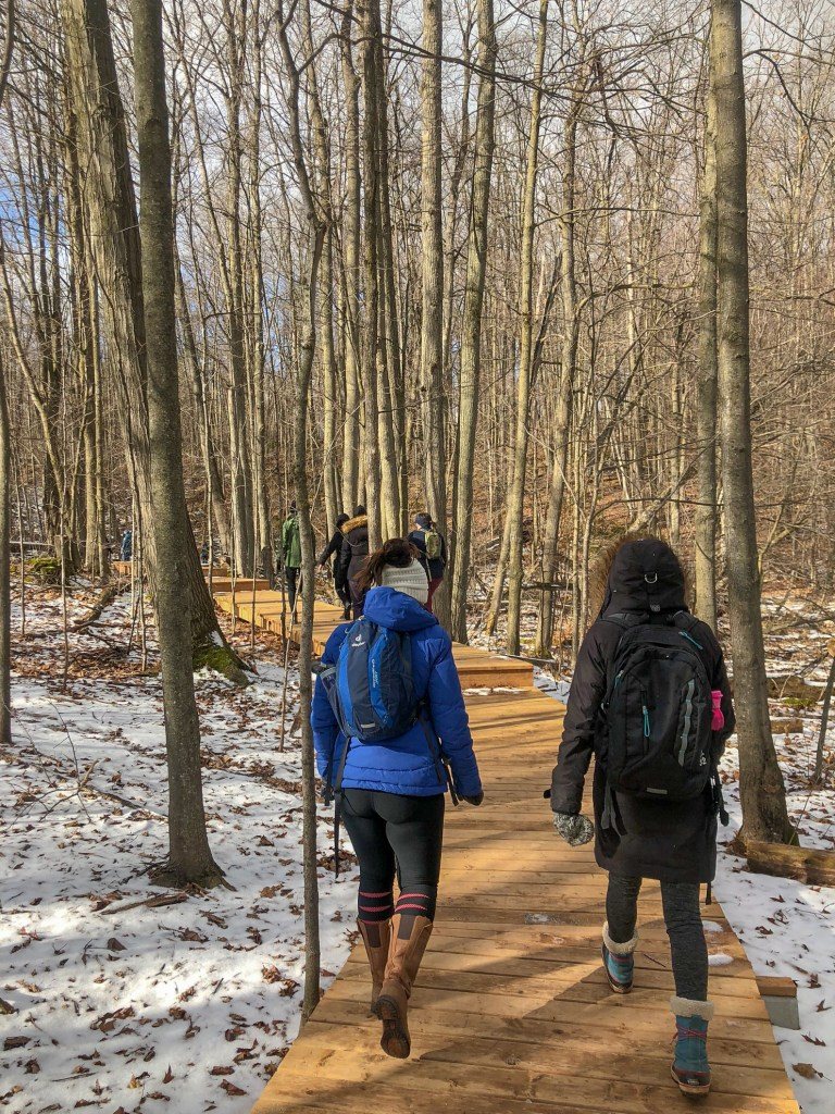 I ventured out to Silvercreek Conservation area on the Bruce Trail yesterday with members of Women Who Explore Ontario. #silvercreekconservationarea #brucetrail #womenwhoexplore #womenwhoexploreontario #discoveron  #ontarioforyou  #girloutdoor #girlsthatwander  #hikingculture #gogalavanting  #girlswhohike