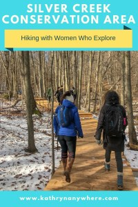 I ventured out to Silver Creek Conservation area on the Bruce Trail yesterday with members of Women Who Explore Ontario. #silvercreekconservationarea #brucetrail #womenwhoexplore #silvercreek #womenwhoexploreontario #discoveron  #ontarioforyou  #girloutdoor #girlsthatwander  #hikingculture #gogalavanting  #girlswhohike #canadahikes