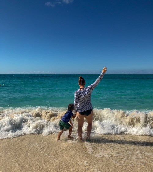 We don't want to leave Beaches turks and Caicos! Do you have post vacation blues? #pdb #depression #vacation #neverwanttoleave #dontwanttogohome #postvacationblues #oceanblues #shadesofblue