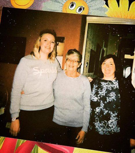 Me, Nan and Mum over Christmas break