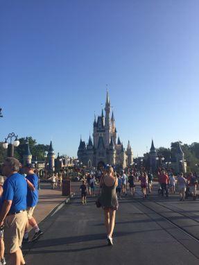 Heading for Cinderella's Castle