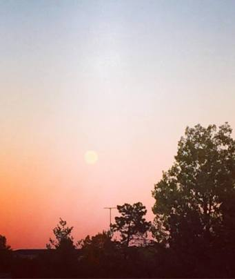 The moon, Holyoke MA