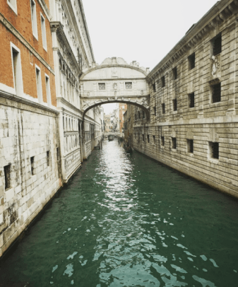 A throwback to Venice