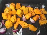 Pumpkin, onion & spices