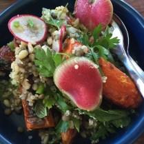 Baked Carrot & Quinoa Salad