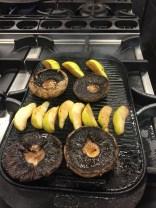 French Grill - Mushroom & Pear