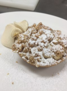 Chef's Apple Crumble Tart