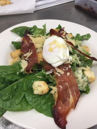 Chefs Caesar salad
