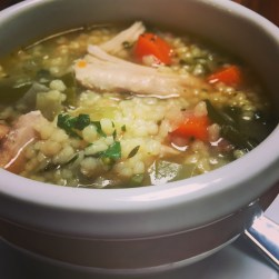 Chicken & Fergola Soup