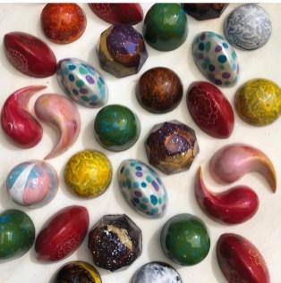 Sample of LustreChocolates