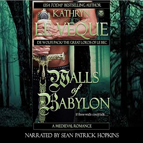 Walls of Babylon: (de Wolfe Pack Book 12) Audio