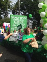 Sandy Hook School float at Newtown Labor Day Parade 2013