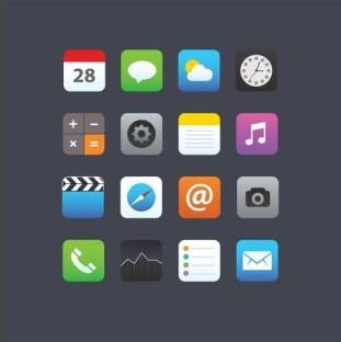 smartphone-app-icons-vector