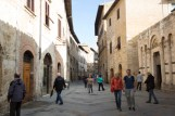 1-stop over exposed. San Gimignano, Italy, tourists, tourist attraction, hill town, Tuscany, Italy
