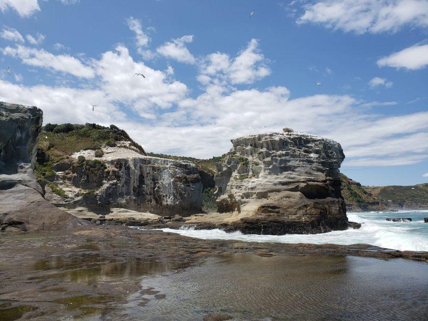 Cliffs at Watipu Beach